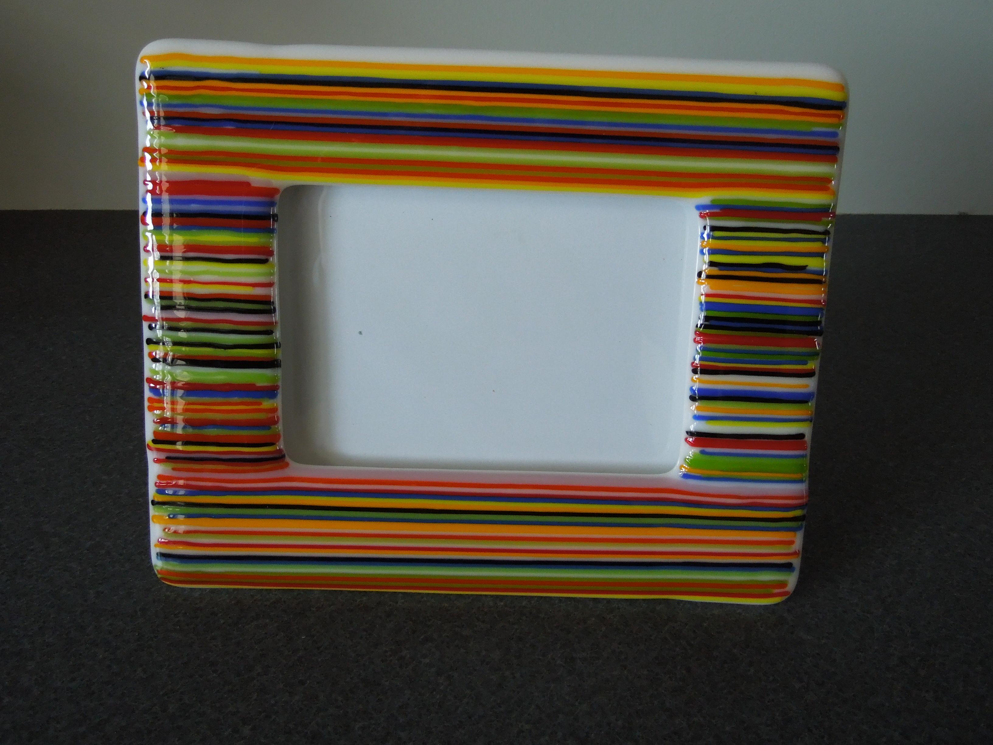 Großartig Fused Glass Picture Frames Bilder - Benutzerdefinierte ...